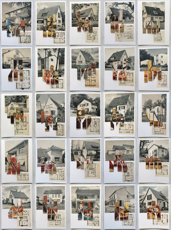 25 works - Homage to Kurt Schwitters MERZbau