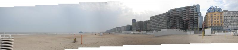 Belgische Kueste Panorama / Belgian coast panorama