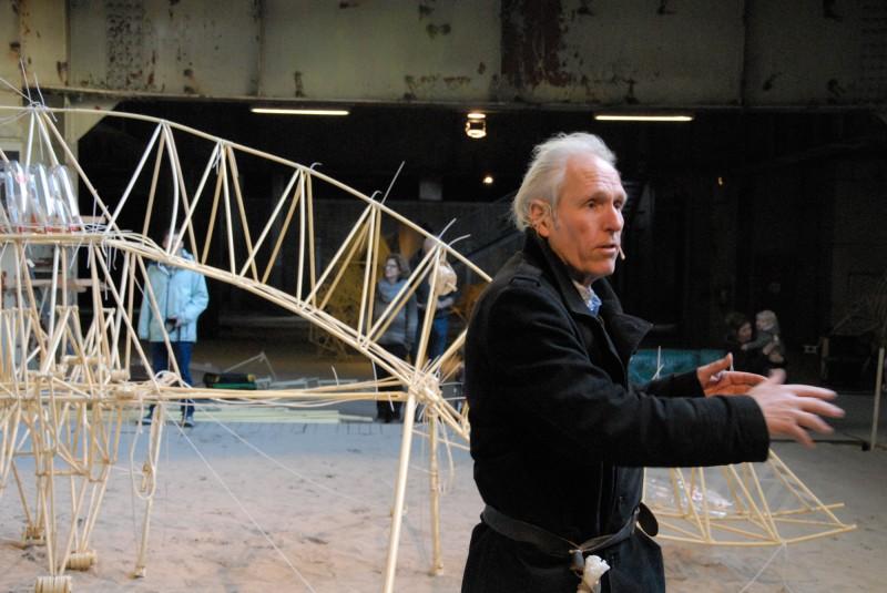 Theo Jansen - The artist is present