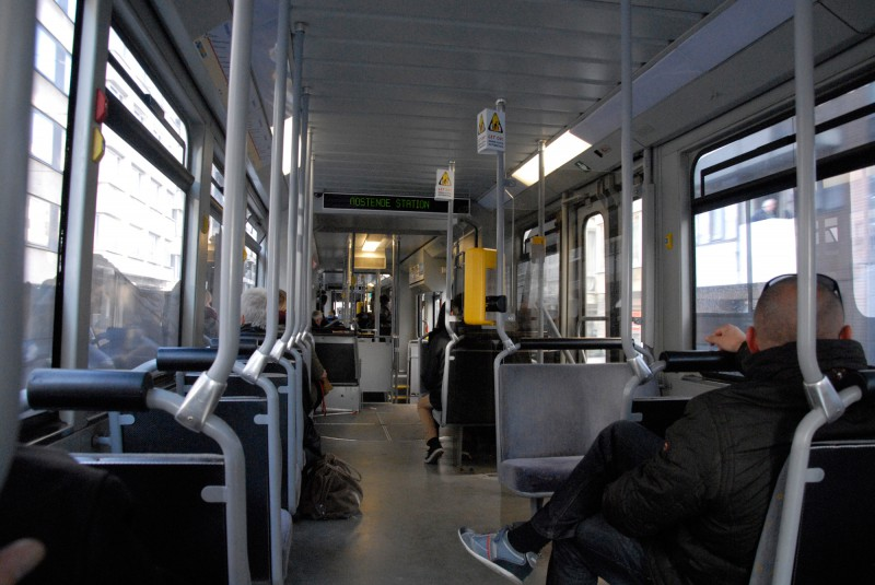 in der Tram / inside the tram