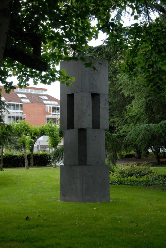 Erwin Heerich - Monument - Skulpturenpark Viersen