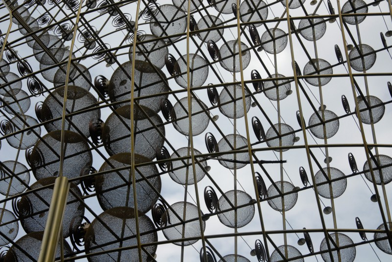 Guenter Haese Optimismus II Detail - Skulpturenpark Viersen
