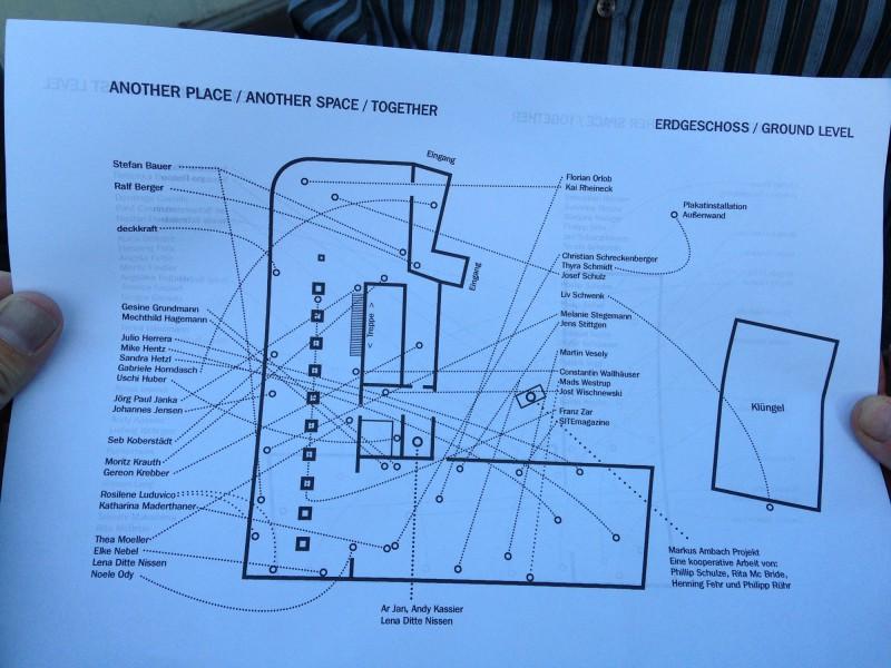 Lageplan Erdgeschoss
