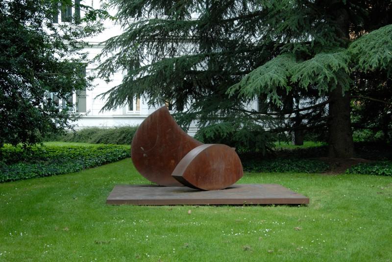 Wolfgang Nestler - Position im Schwerpunkt - Sklupturenpark Viersen