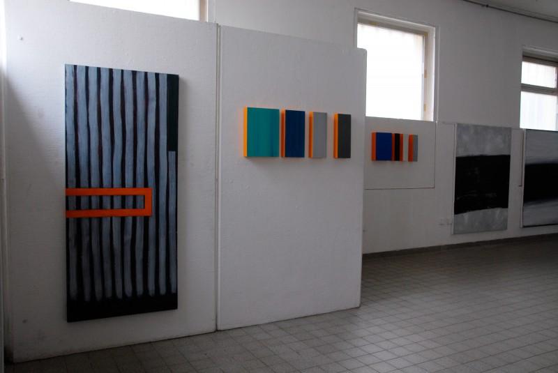 Christiane Vahle im Raum für Kunst -