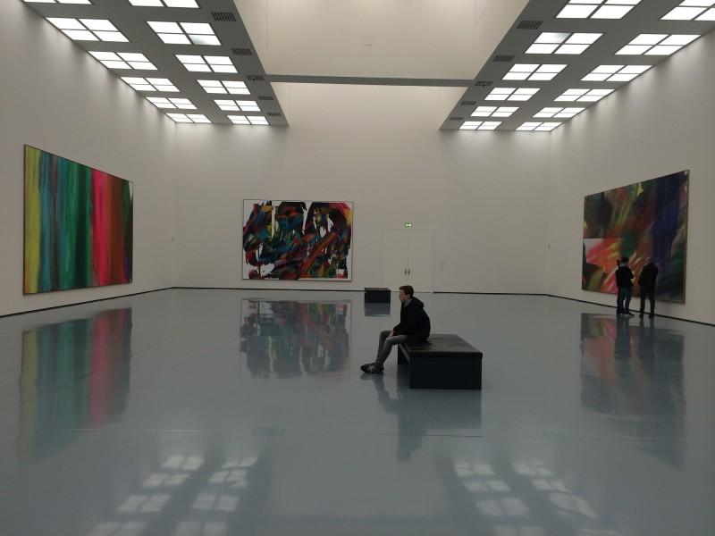 Katharina Grosse im Museum Kunstpalast - Saal 2