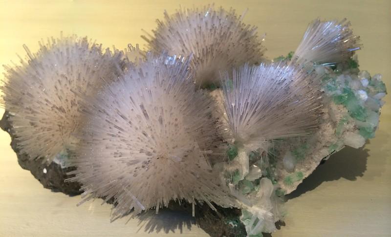 Naturkundemuseum Berlin - Mineralogie/Petrographie - Mesolith/Apophyllit/Stilbit aus Indien