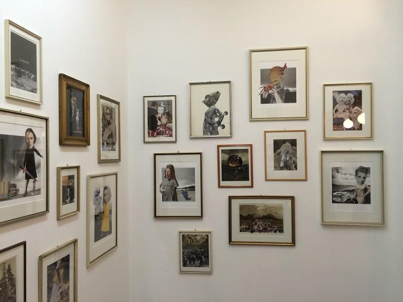 Sabine Remy - Collagen - Ausstellung im Sprungturm
