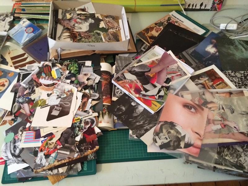 Chaos auf meinem Schreibtisch / Chaos on my desk