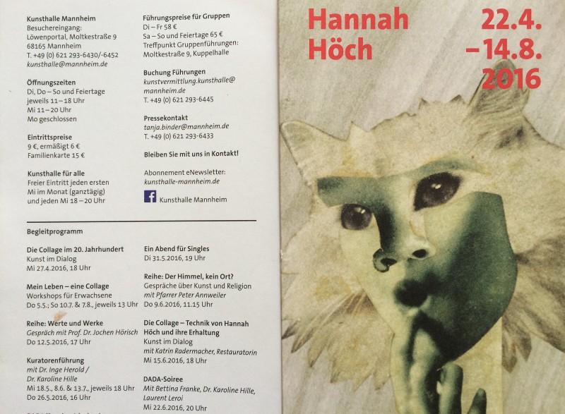 Hannah Hoech Ausstellung in Mannheim 2