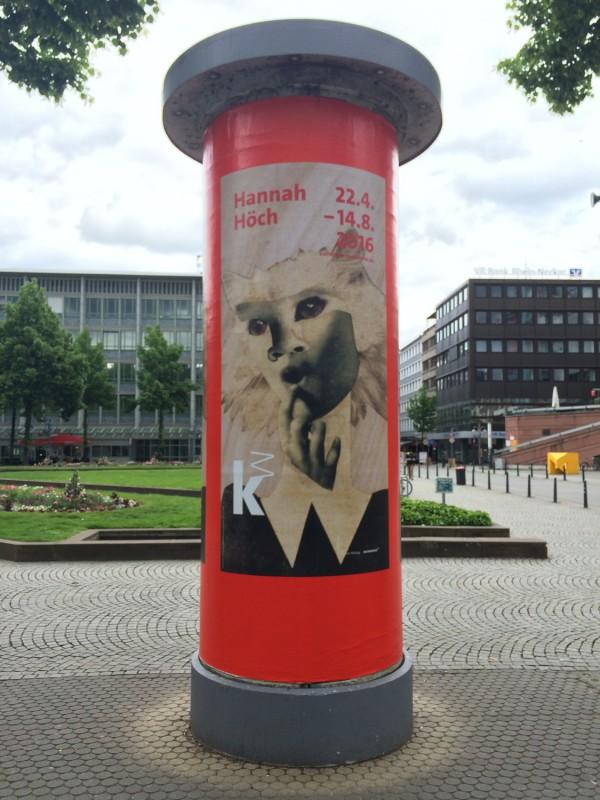 Hannah Hoech Ausstellung in Mannheim