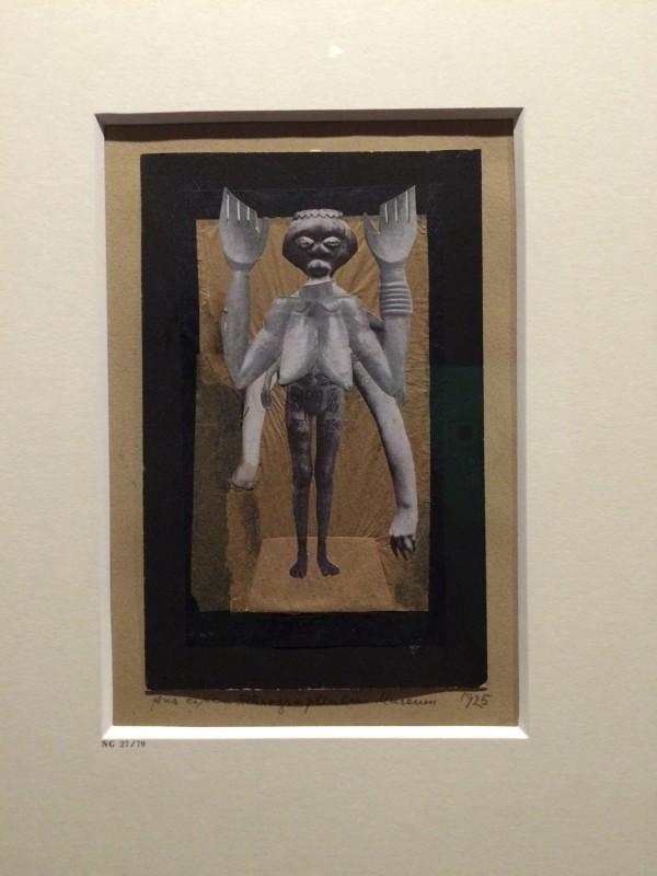 Hannah Hoech Trauer (Aus einem ethnographischen Museum) 1925
