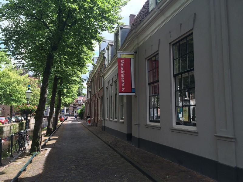 Mondrians Geburtshaus Amersfoort - Mondrian´s birthplace in Amersfoort