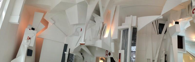 Der MERZBAU in Hannover (Original 1923-36, 1943 zerstört) Rekonstruktion 1980-83 Realisation Peter Bissigger (3)