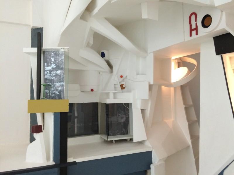 Der MERZBAU in Hannover (Original 1923-36, 1943 zerstört) Rekonstruktion 1980-83 Realisation Peter Bissigger (5)