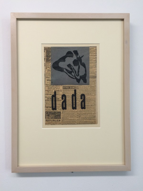 Hans Arp - dada (Luxusausgabe der Anthologie Dada, Dada 4-5) (luxe edition of Anthology Dada) 1919
