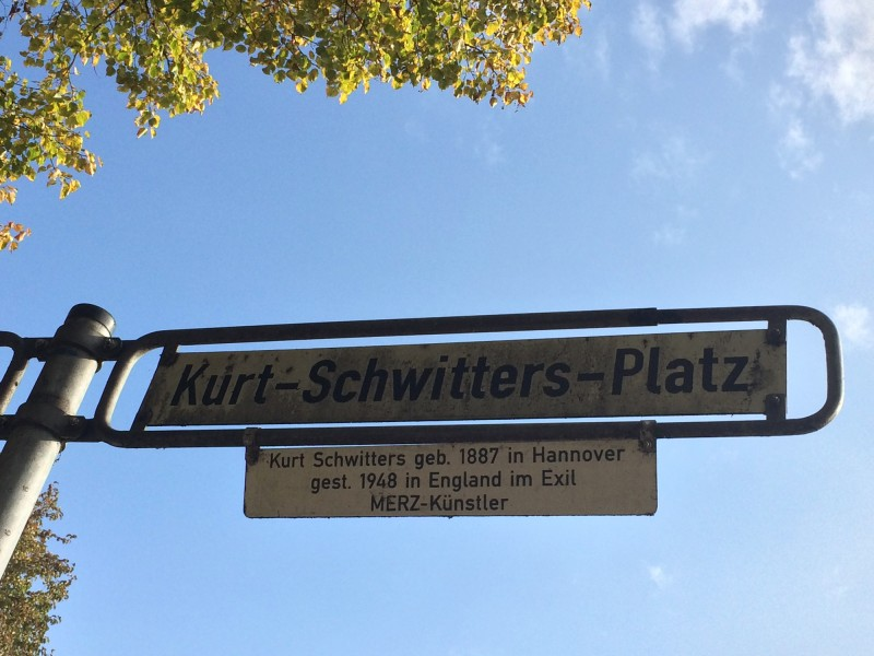 Kurt Schwitters Platz