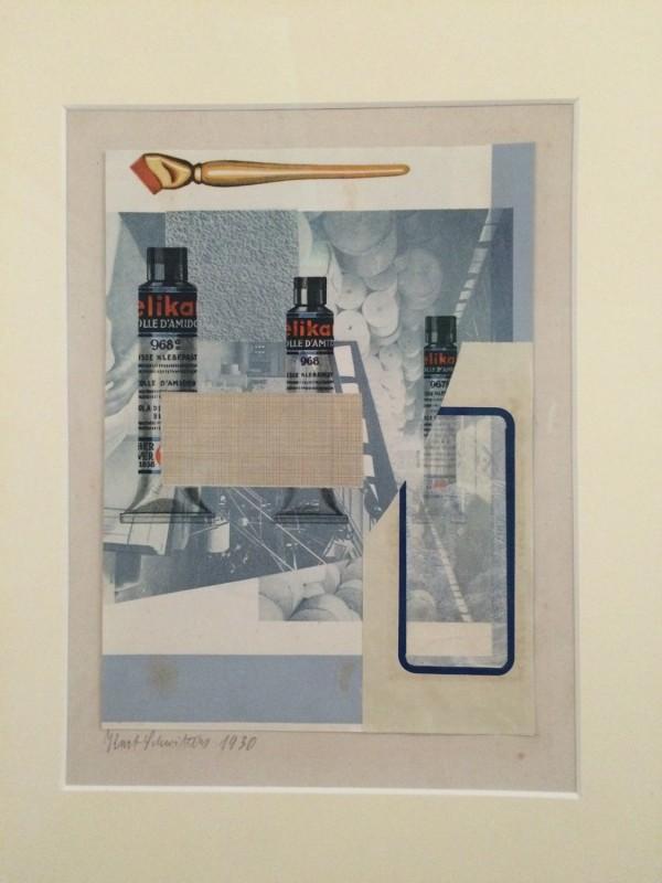 Kurt Schwitters ohne Titel (elika) 1930