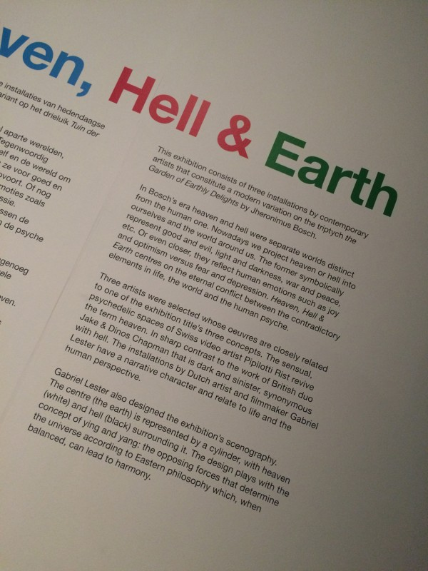 Heaven Hell and Earth Infotafel