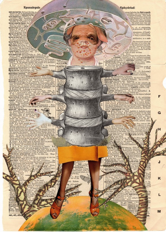 No10 Exquisite Corpse by Josephine, Lynn Skordal and Sabine Remy