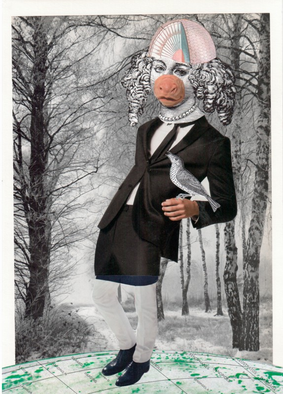 No15 Exquisite Corpse by Josephine, Lynn Skordal, Sabine Remy