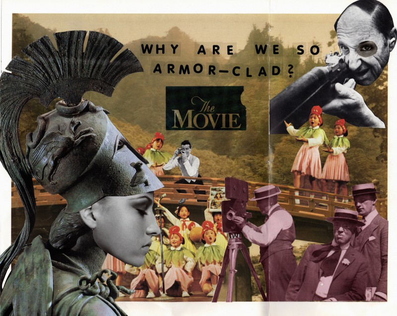 No33 Tricollage Lynn Skordal, Sabine Remy, Josephine 2016 Why Are We So Armor-Clad -The Movie