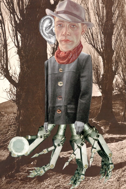 No39 Tricollage Exquisite Corpse 1 Sabine Remy (Legs) 2 Josephine (Head) 3 Lynn Skordal (Body)