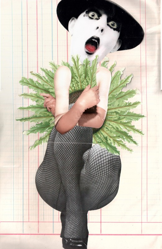 No42 Tricollage Exquisite Corpse 1 Josephine (Feet) 2 Lynn Skordal (Head) 3 Sabine Remy (Body)