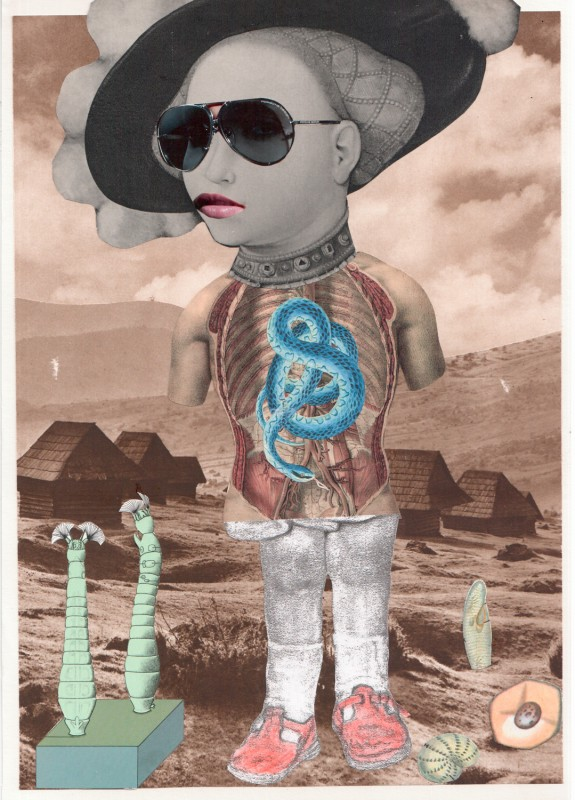 No8 Exquisite Corpse by Sabine Remy, Lynn Skordal, Josephine