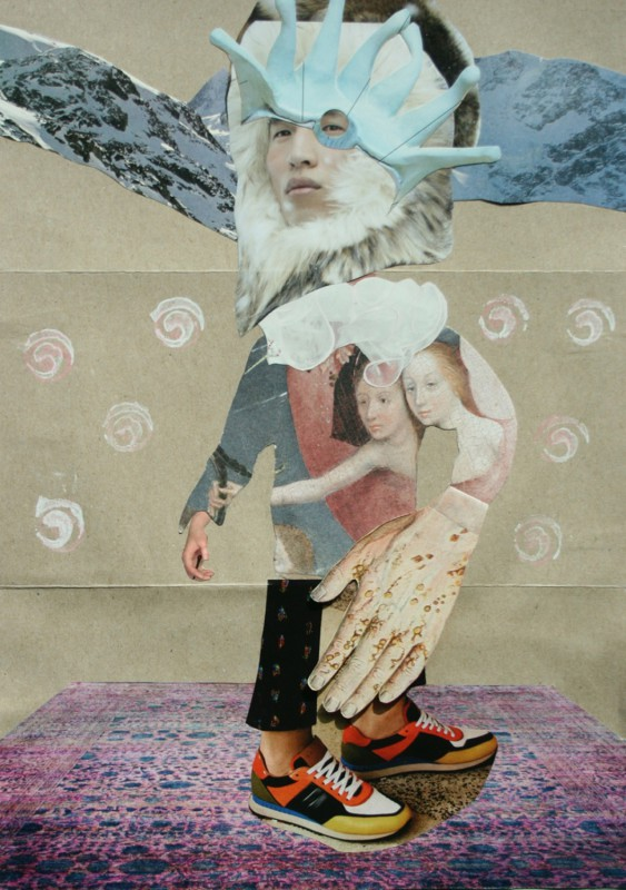 No9 Exquisite Corpse by Sabine Remy, Josephine and Lynn Skordal