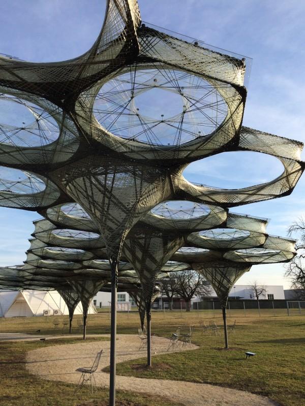 Vitra Campus - Elytra Filament Pavilion