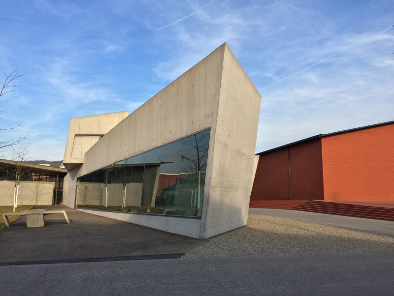 Vitra Campus - Firestation - Zaha Hadid and Schaudepot - Herzog & de Meuron