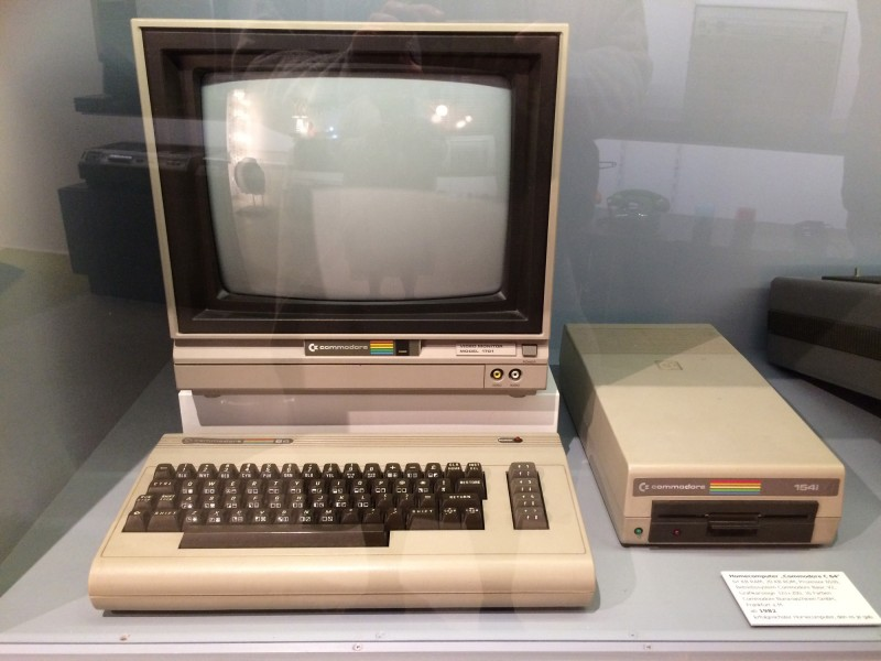 Umspannwerk Recklinghausen - Commodore C64 - Der Erste :-)  / Substation Recklinghausen - Commodore C64 - The first one :-)