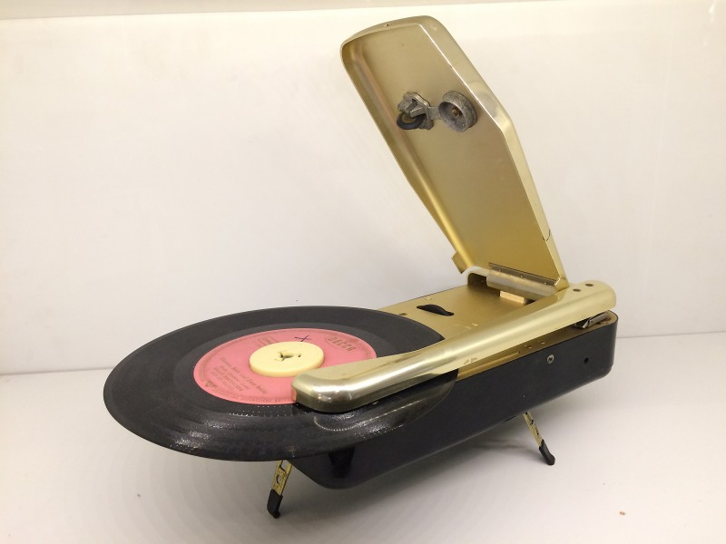 Umspannwerk Recklinghausen - Reiseplattenspieler 1950  / Substation Recklinghausen - Travel Record Player 1950