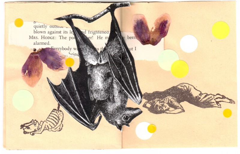 5. double page - Collaborative booklet by Vizma Bruns and Sabine Remy