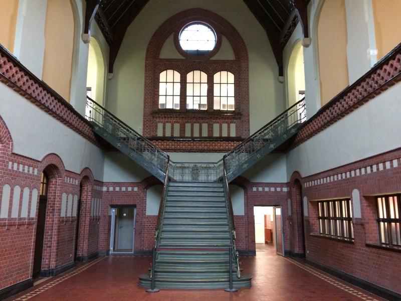 Zeche Zollern Dortmund - Eingangshalle Verwaltungsgebäude  - Entrance Hall administration building