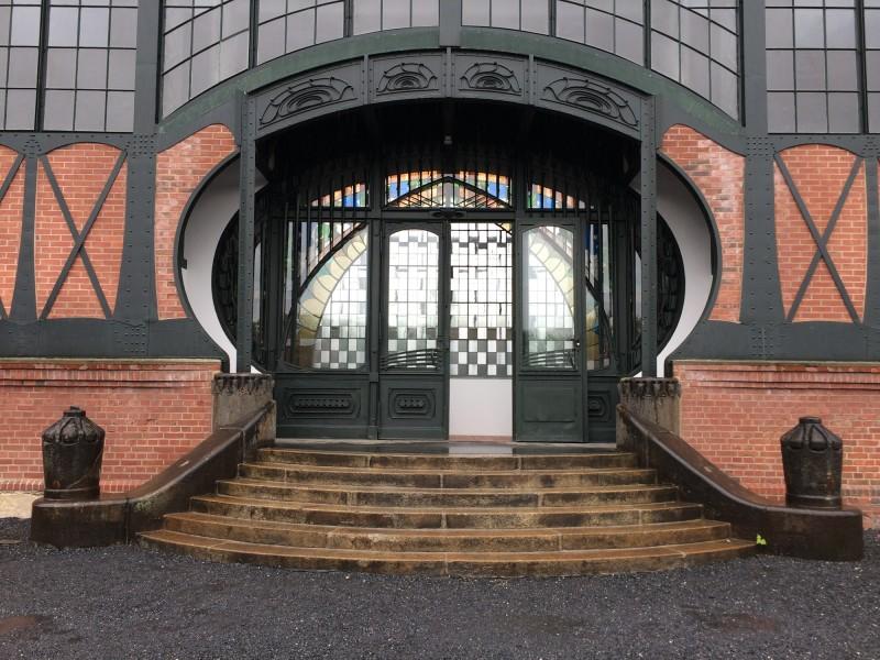 Zeche Zollern Dortmund - Jugendstilportal zur Maschinenhalle  - Art Nouveau entrance portal to Machine Hall