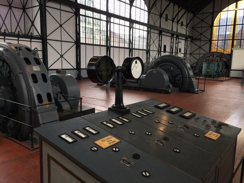 Zeche Zollern Dortmund - Maschinenhalle - Machine Hall Detail