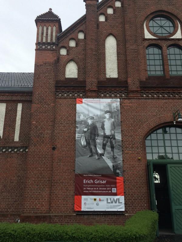 Zeche Zollern II-IV Ausstellungsplakat Erich Grasar  - Exhibition Erich Grasar