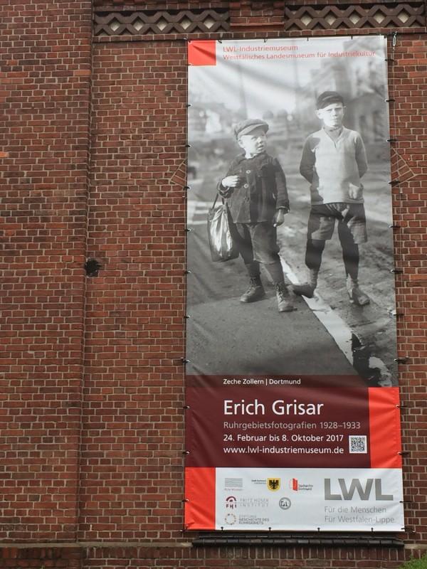 Zeche Zollern II-IV Ausstellungsplakat Erich Grisar