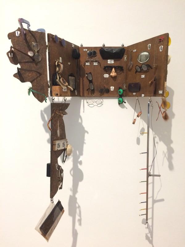 Daniel Spoerri - L´Optique moderne / Modern Optics - 1961-1962 - in: kunst ins leben! - Der Sammler Wolfgang Hahn und die 60er Jahre - im Museum Ludwig