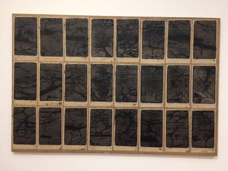 Francois Dufrene - Stencil No. 0 - 1973- in: kunst ins leben ! - Der Sammler Wolfgang Hahn und die 60er Jahre - im Museum Ludwig