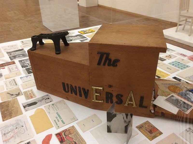 George Brecht - The Universal Machine - 1962-1963 - in: kunst ins leben ! - Der Sammler Wolfgang Hahn und die 60er Jahre - im Museum Ludwig
