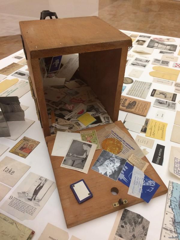 George Brecht - The Universal Machine - 1962-1963 - in: kunst ins leben !- Der Sammler Wolfgang Hahn und die 60er Jahre - im Museum Ludwig