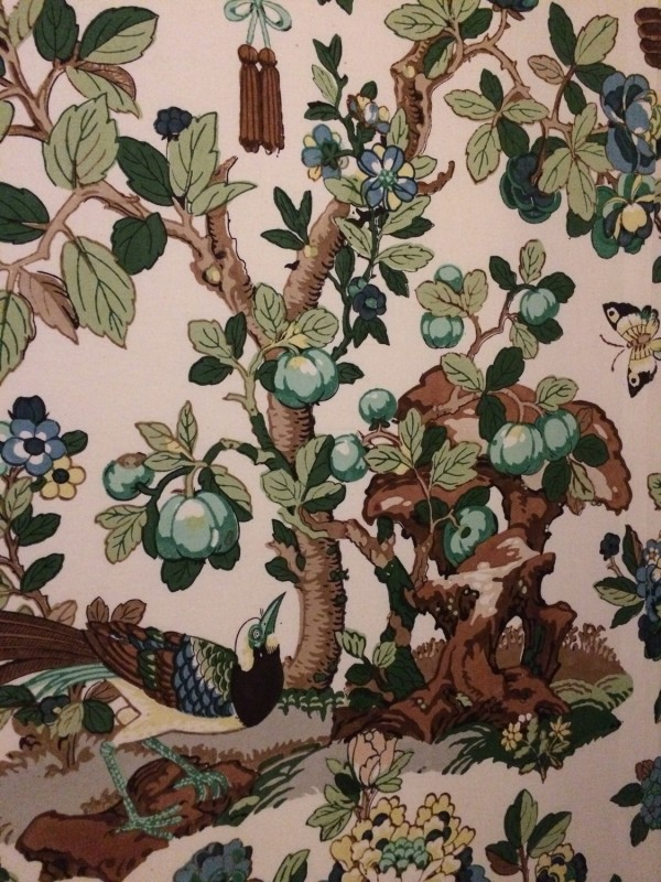 Seidentapete Silk Wallpaper in Schloss Benrath