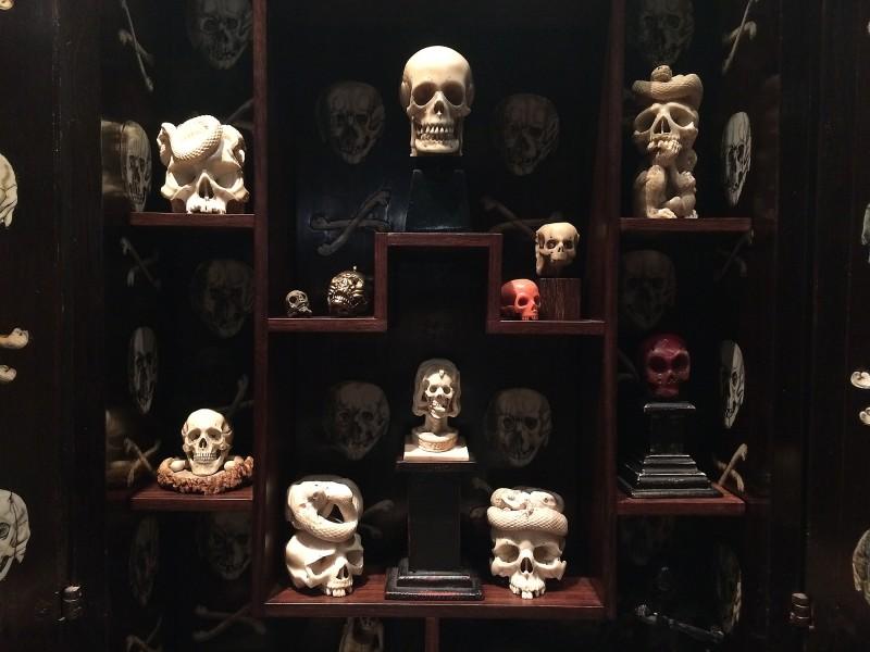 Unterschiedliche Memento Mori-Objekte - Wunderkammer Olbricht<br>different Memento Mori Objects - Wunderkammer Olbricht