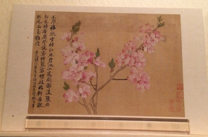 Flowers - by Yun Ahouping (1633-1690) - Album Leaves - Qing Dynasty (1)