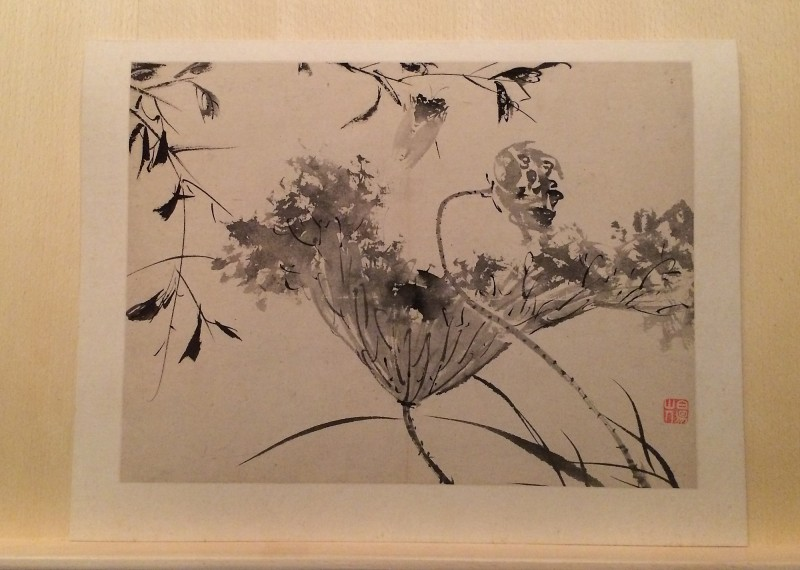 Flowers in Ink - by Chen chun (1483 - 1544) - Album - Ming Dynasty (5)