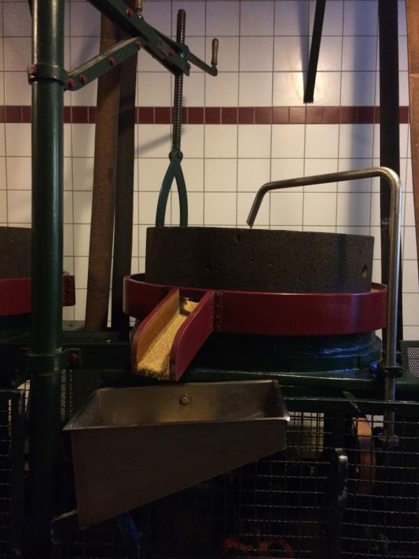 Ein Teil der Historischen Senfmühle Breuer - Monschau<br>A part of the Historical Mustard Mill Breuer in Monschau