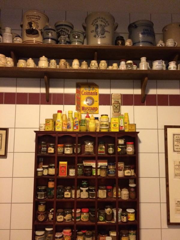 In der Historischen Senfmühle Breuer - Monschau<br>Inside the Historical Mustard Mill